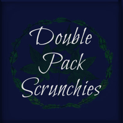 Double Pack Scrunchies