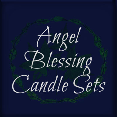 Angel Blessing Candle Sets