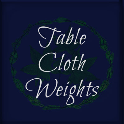 Table Cloth Weights