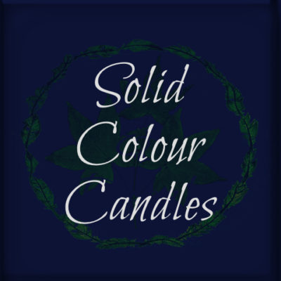 Solid Colour Candles